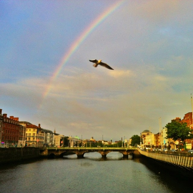 Photo by @ToDestinationUnknown on Instagram (Irish Rainbow)