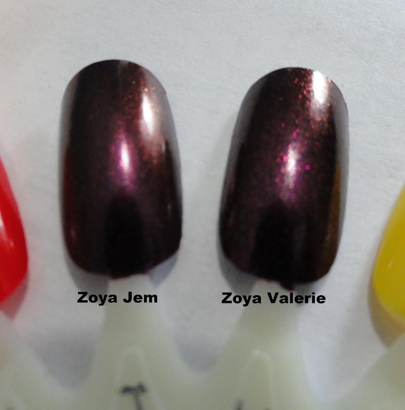 Zoya Valerie Vs Jem Nails Never Fai...