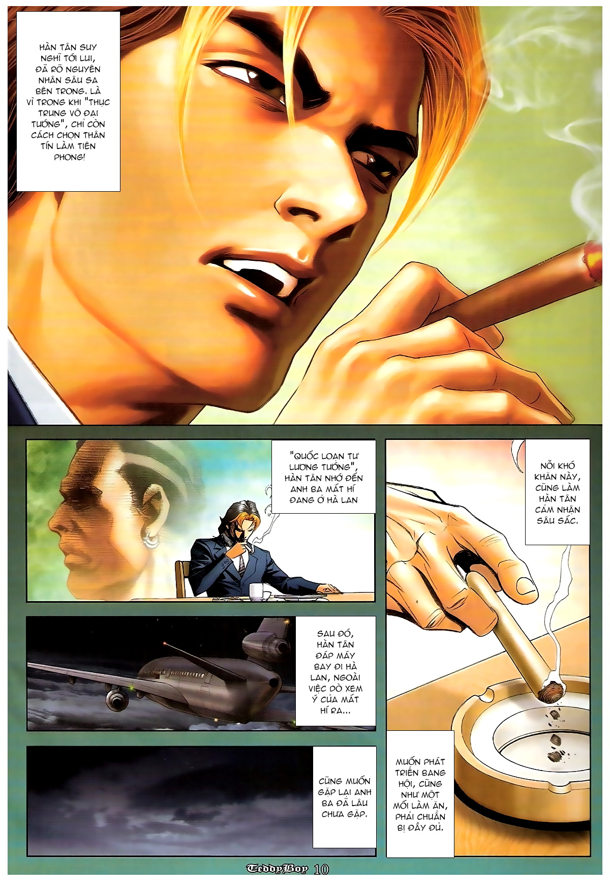 Người Trong Giang Hồ - Chapter 1244: Mắt Hí - Pic 9