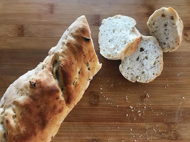 Pan casero recién hecho