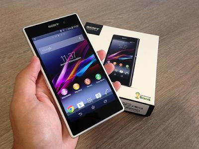 Thay mặt kính Sony Z1 chính hãng