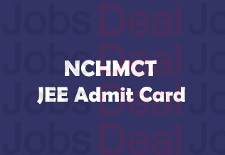 NCHMCT JEE Admit Card 2017