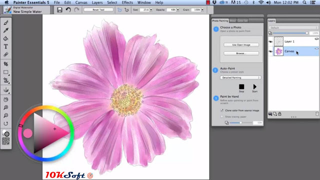 Corel Painter Essentials 5 for Mac OS X Offline Setup Free Download