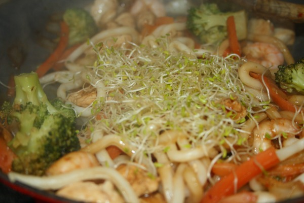 Secret Ingredient Noodle Stir Fry