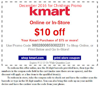 Kmart coupons december 2016