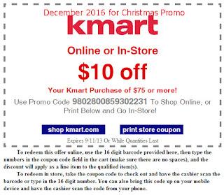 Kmart coupons december 2016