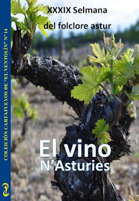 Guía Cartafueyos dedicada al Vino Asturiano