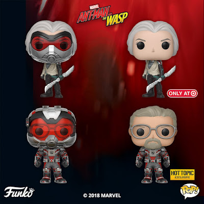 Ant-Man and The Wasp Pop! Series 2 Vinyl Figures by Funko