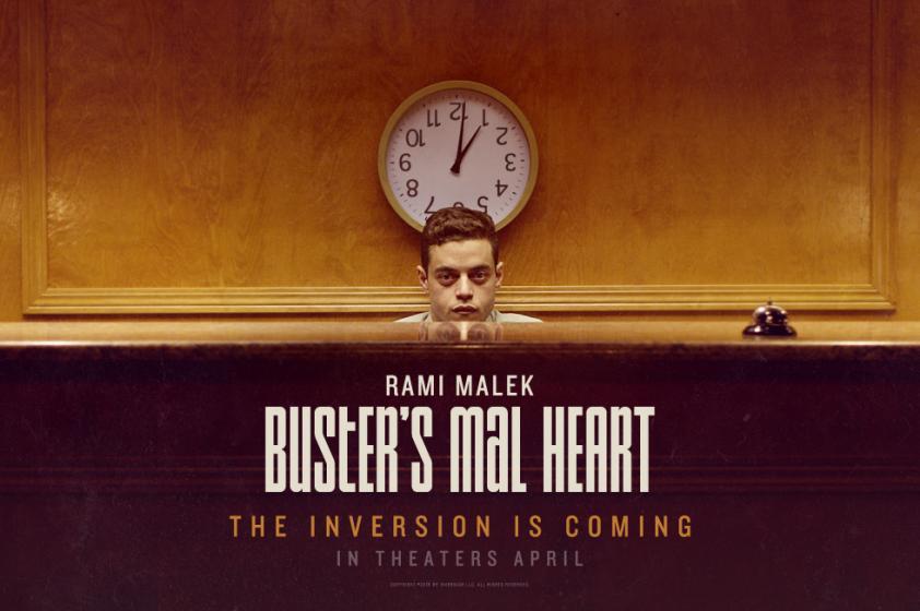 Buster's Mal Heart (2017) Rami Malek
