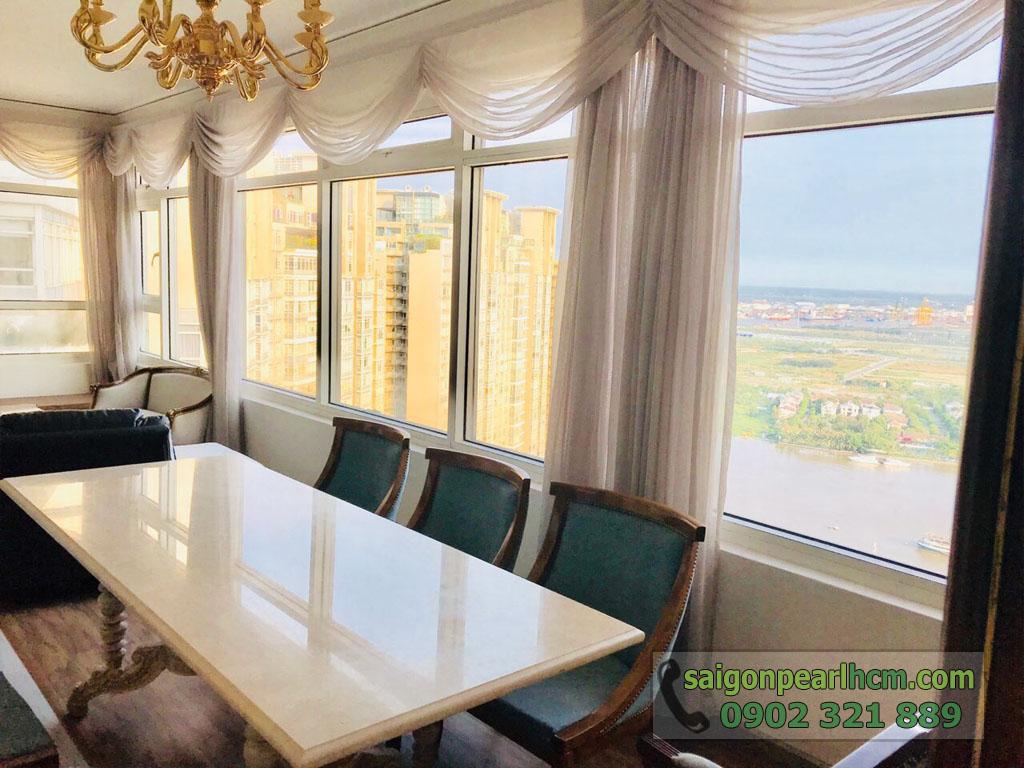 Penthouse cực đẹp và sang trọng tại Saigon Pearl Shaphire cho thuê - hình 14
