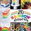 20 Rainbow Desserts