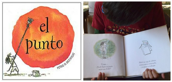 cuento infantil tolerar frustracion educacion emocional el punto peter h. reynolds