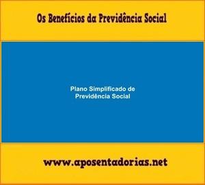Plano Simplificado de Contribuição à Previdência.