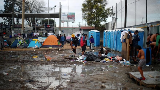 Malas condiciones de higiene para migrantes en México