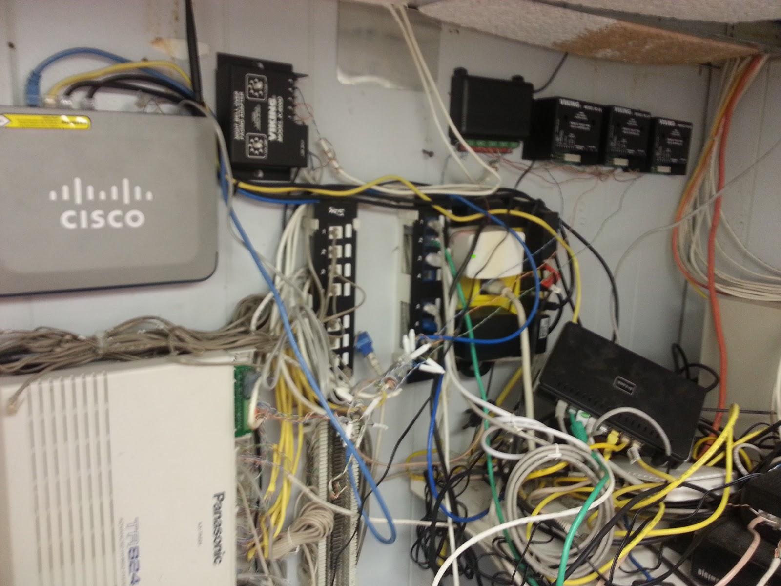 Nyphonejacks: Network Clean-up, Overhead Paging, And Door