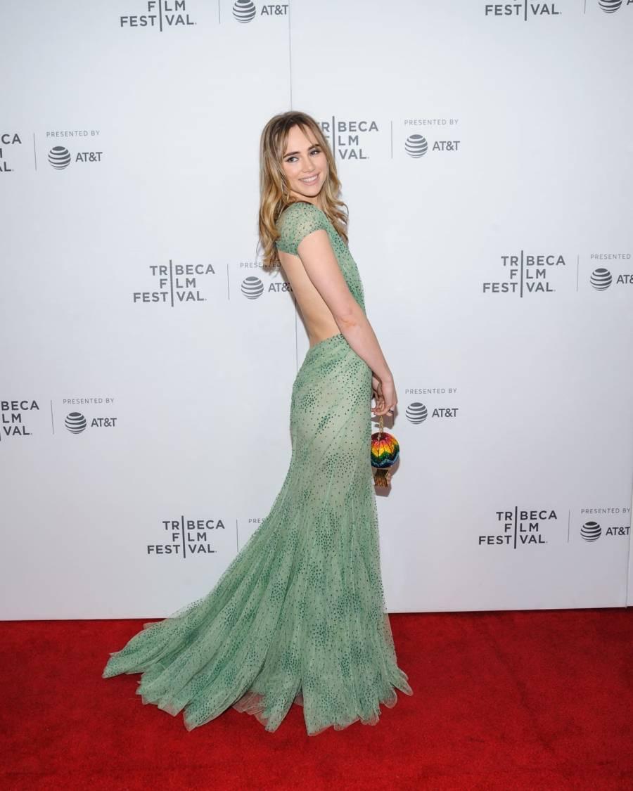 Suki Waterhouse At Charlie Says Screening at Tribeca Film Festival