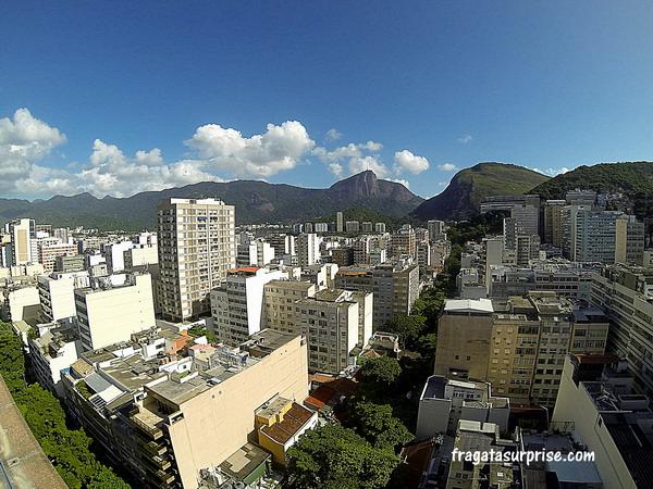Vista do terraço do  Hotel Golden Tulip Ipanema Plaza, Rio de Janeiro