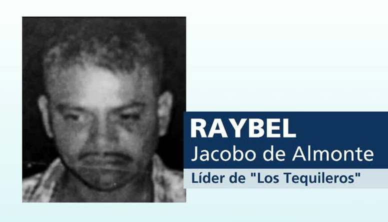 "¿Quién era Raybel Jacobo Almonte, ""El Tequilero""?"