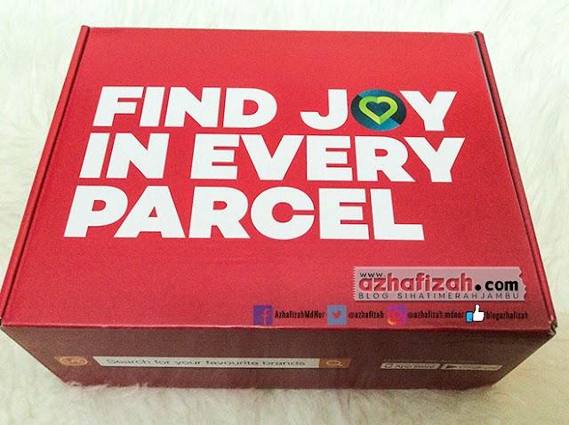 Apa yang Menarik Dalam Parcel Of Joy Lazada Sempena Online Revolution