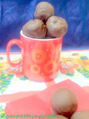 Cioccolatini con marzapane - marzapane fatto in casa