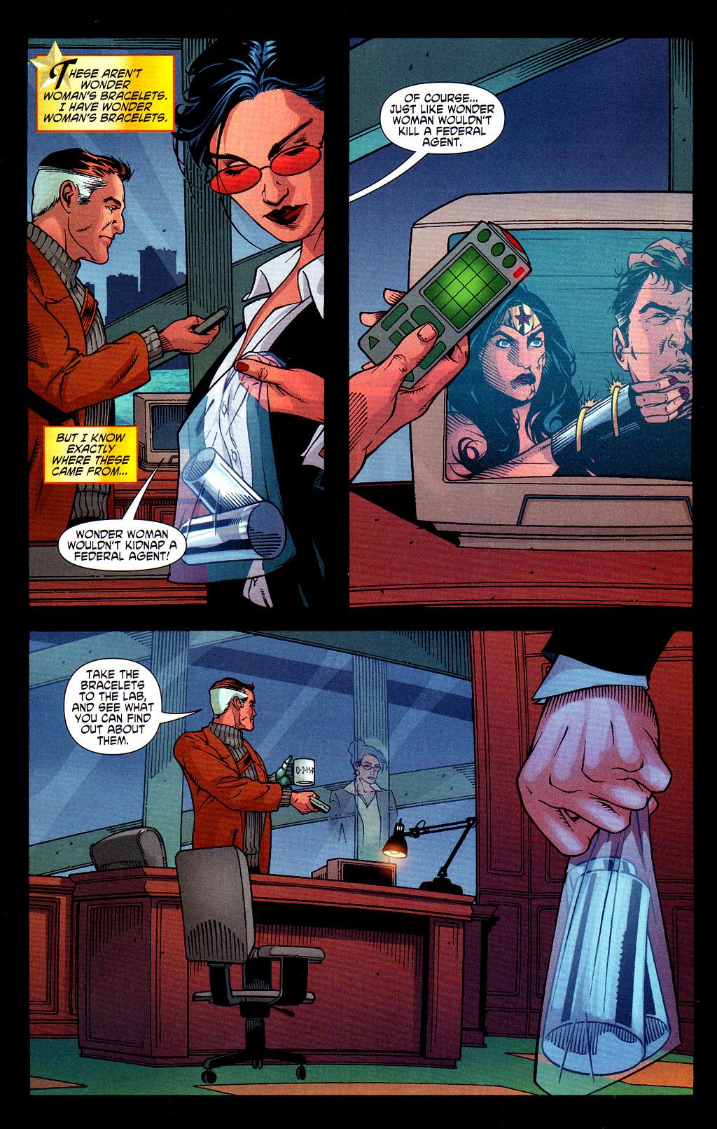 Read online Wonder Woman (2006) comic -  Issue #6 - 20