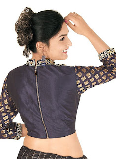 101 Stunning Saree Blouse Back Neck Designs | Bling Sparkle