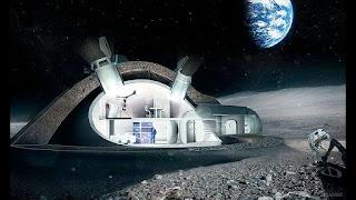 Мебель будущего для жизни на Луне