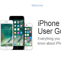 Contents of iPhone User Guide PDF iBook