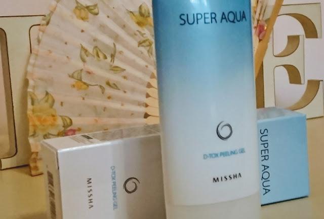 MISSHA Super Aqua D -Tox peeling gel