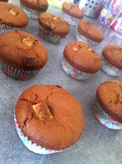 muffins tri-choco