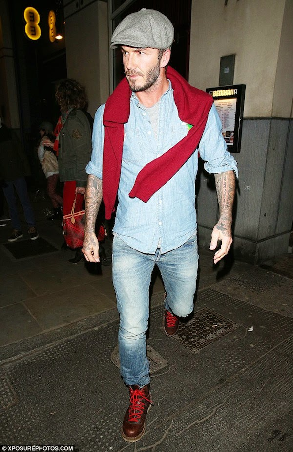 David Beckham wears De...