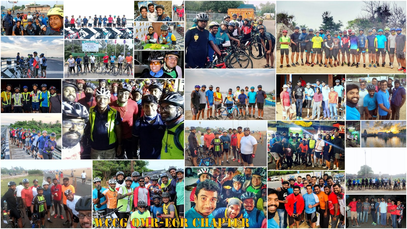 Wccg omr ecr chapter summary 2017 wccg chennai cyclists our chapter holds the name of the most beloved route in chennai in its name all cyclist in chennai love to ride in omr ecr geographically flat and well solutioingenieria Choice Image