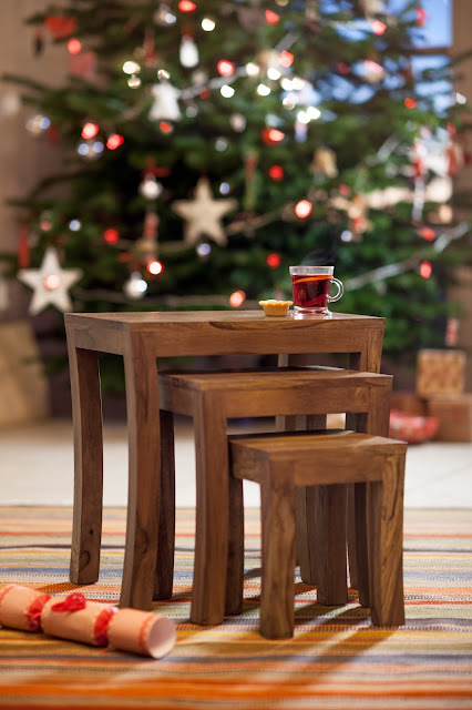 Contemporary Nest of Tables - Christmas furniture