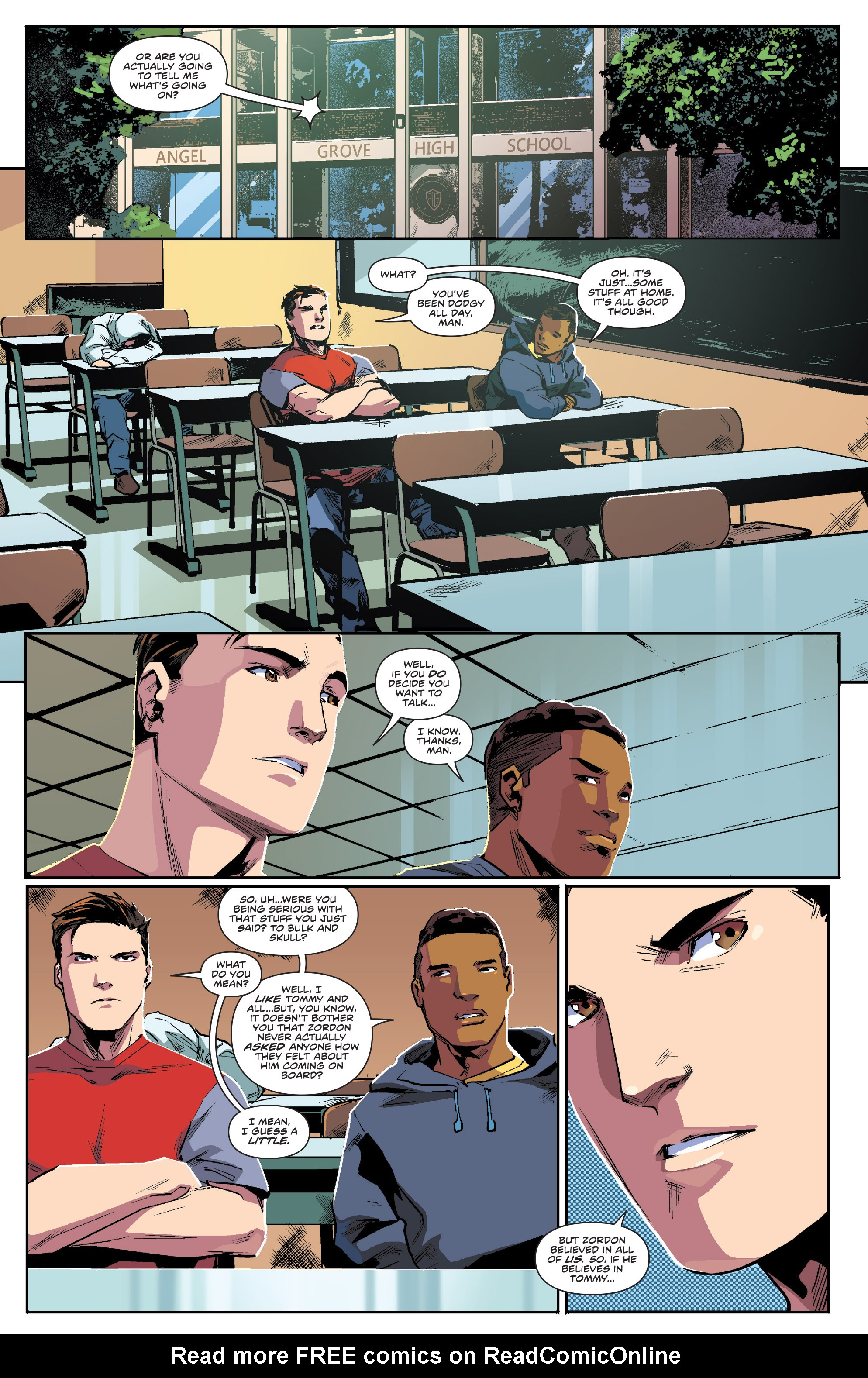 Read online Mighty Morphin Power Rangers comic -  Issue #1 - 15