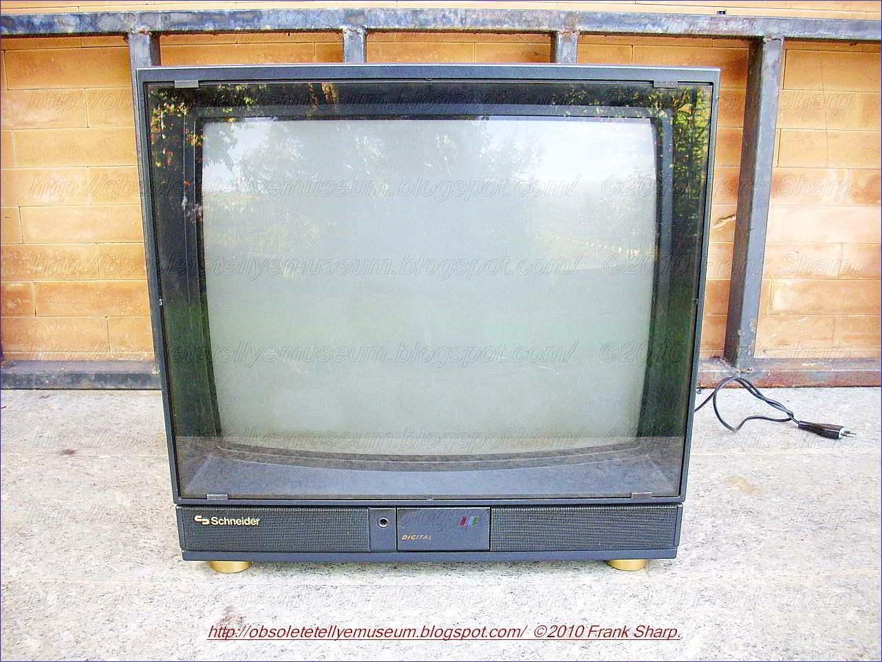 Obsolete Technology Tellye Schneider Dtv5535 Digital Profi Concept 55 Year 1988