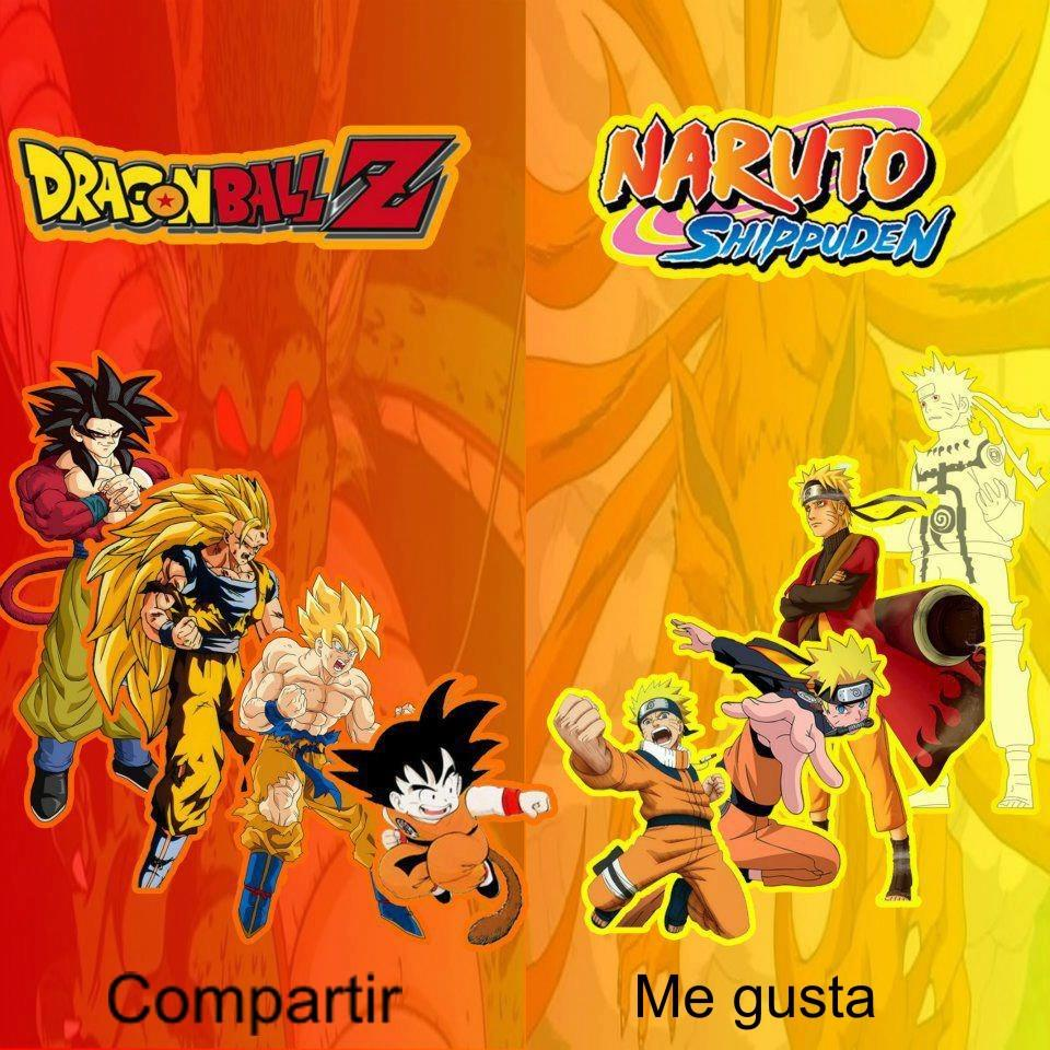 Dragon Ball VS Naruto Uzumaki Mugen