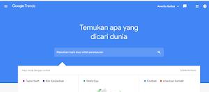 Update 2019 Cara Menentukan Postingan Blog Yang Banyak Dicari Orang Dengan Google Trends