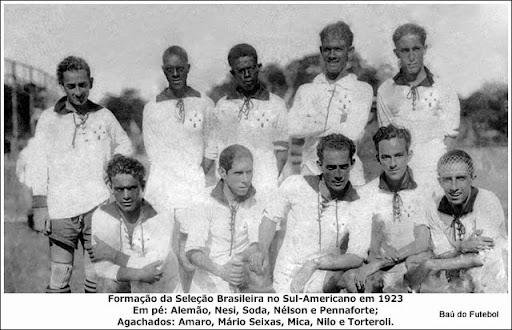 Resultado de imagem para Amaro da Silveira seleção 1923