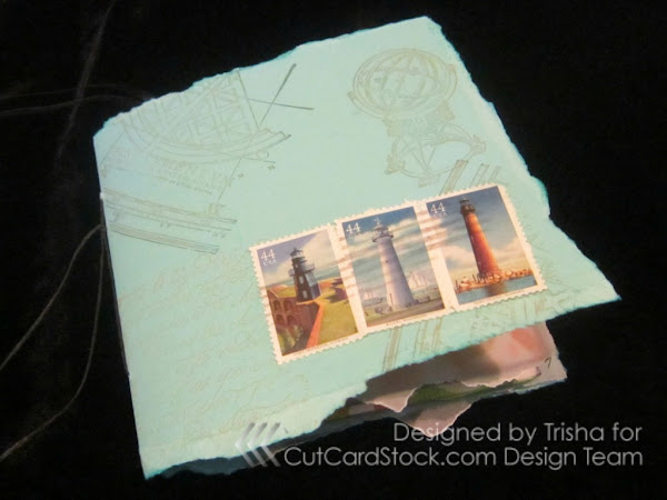 Father's Day--or any day--origami pocket book with inserts