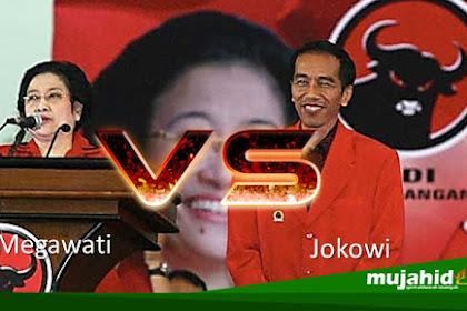 Bukan Lagi Petugas Partai? Hubungan Jokowi dengan Mega Menegang dan Mulai Adu Kuat