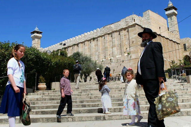 """""""Israel"""" Tutup Masjid Ibrahimi Untuk Muslim Selama 24 Jam"""