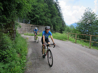 Die Auffahrt auf den Lanzenpass, Passo Cason di Lanza