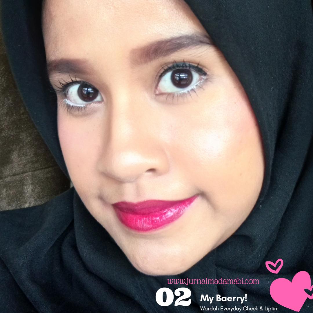 Review Wardah Everyday Cheek Lip Tint All Shade Cosmetics Liptint New Ini Warnanya Adalah Fuschia Atau Seperti Namanya Tipe Warna Buah Berry An Yaitu Perpaduan Antara Pink Tua Dengan Ungu Bolt Dan Itu Cukup