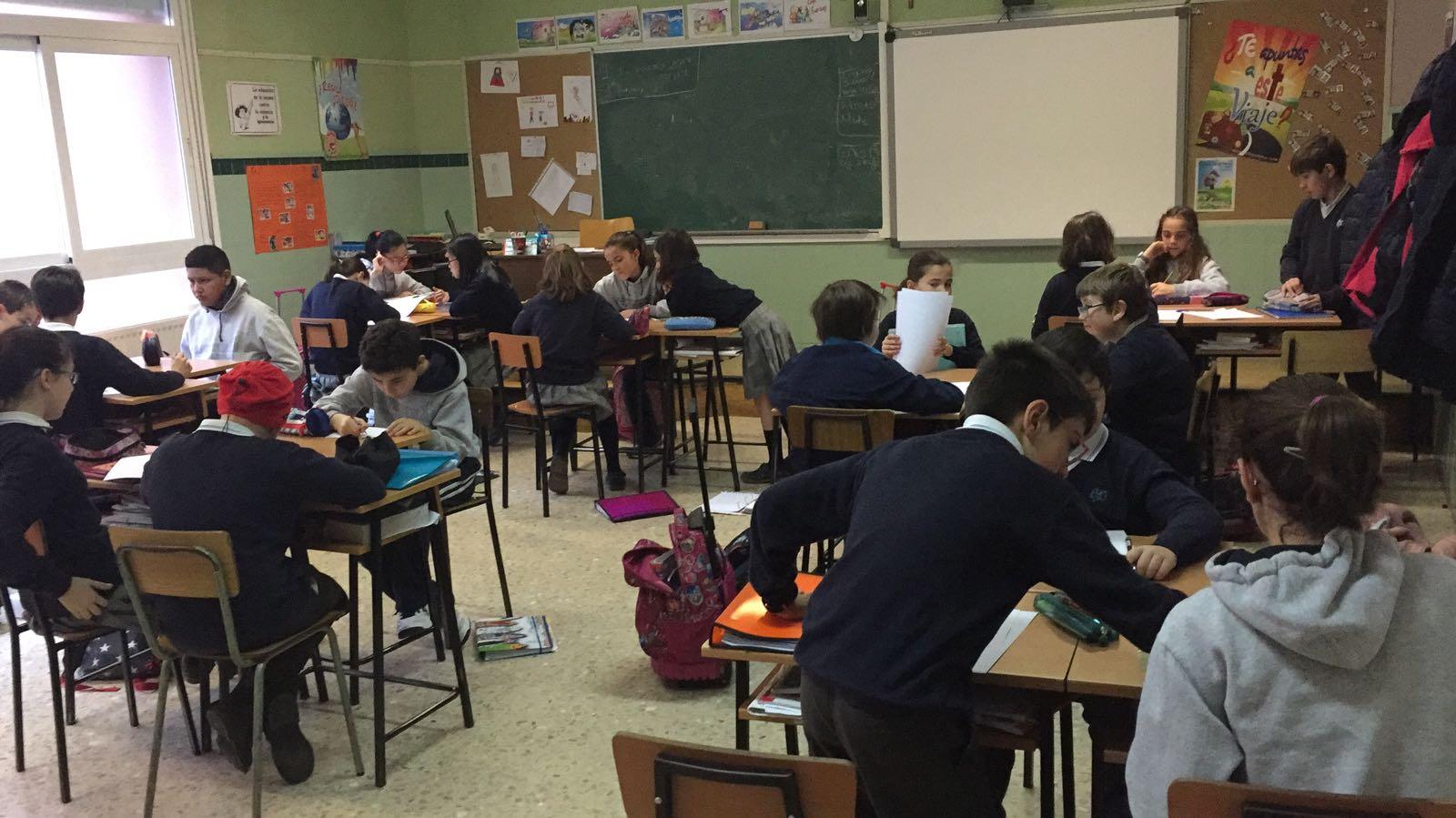 Agustinas Valladolid - 2017 - Primaria 6 - Taller Matemáticas 1