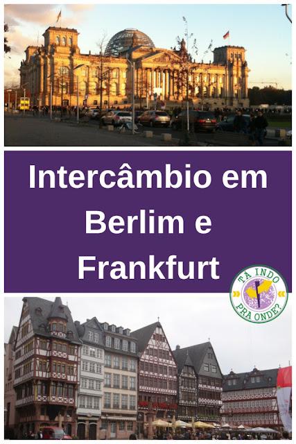 Estudando alemão na Alemanha - Como é o curso da DID em Frankfurt e em Berlim