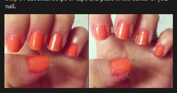 Manicure Tutorials: Candy Corn Nails Art Tutorial