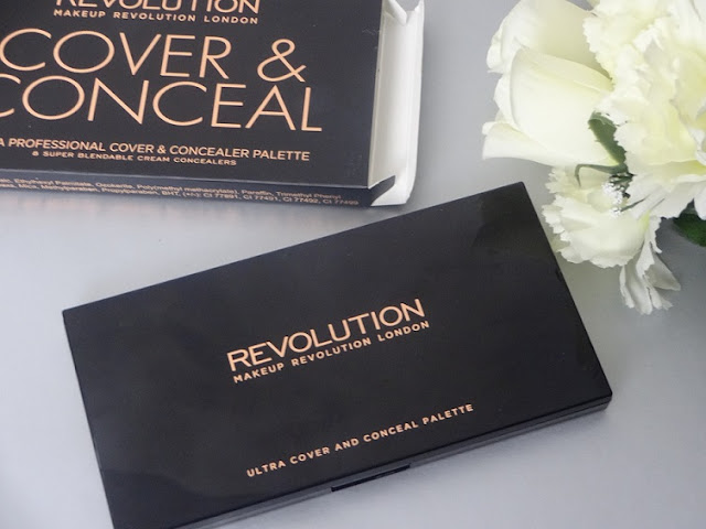 makeup revolution london cover and conceal palette light