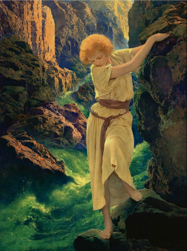 Maxfield  PARRISH The Canyon