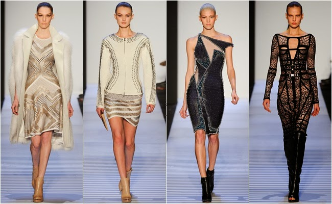 NYFW fall 2014 rtw Herve Leger by Max Azria