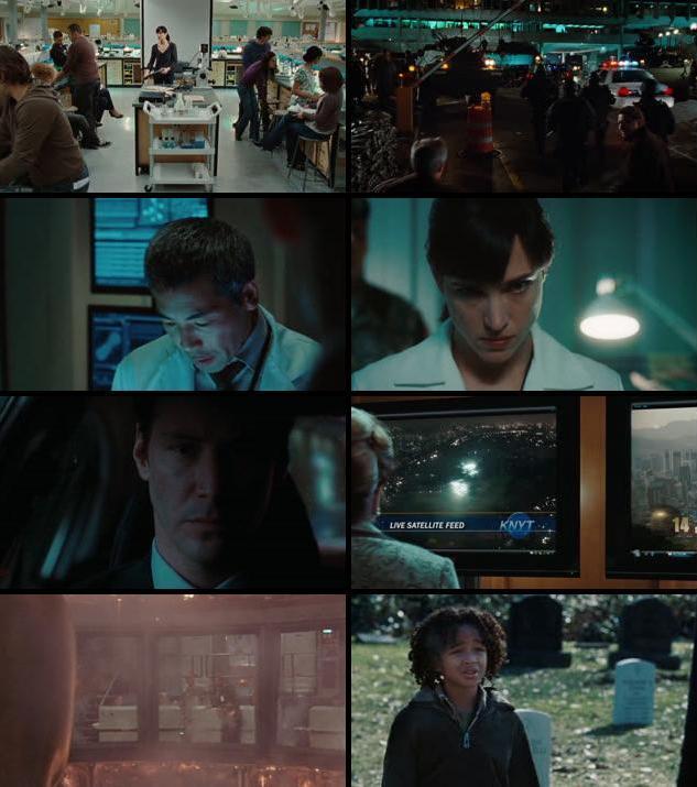The Day The Earth Stood Still 2008 Dual Audio Hindi 720p BRRip